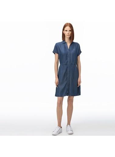 Lacoste Kadın Kısa Kollu Elbise EF0051.51L Lacivert